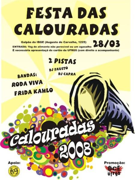 Cartaz Festa Calouradas2008-1