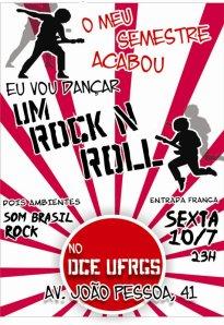 cartaz da festa
